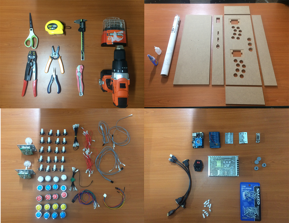 Figure 3 – Tools and parts
