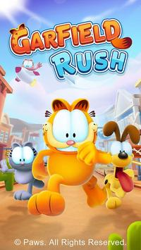 Figure 1 - Garfield Rush is an endless running game with a cartoon flavor