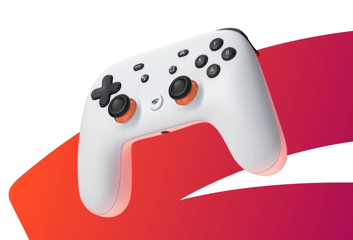 Figure 2 - The Stadia controller