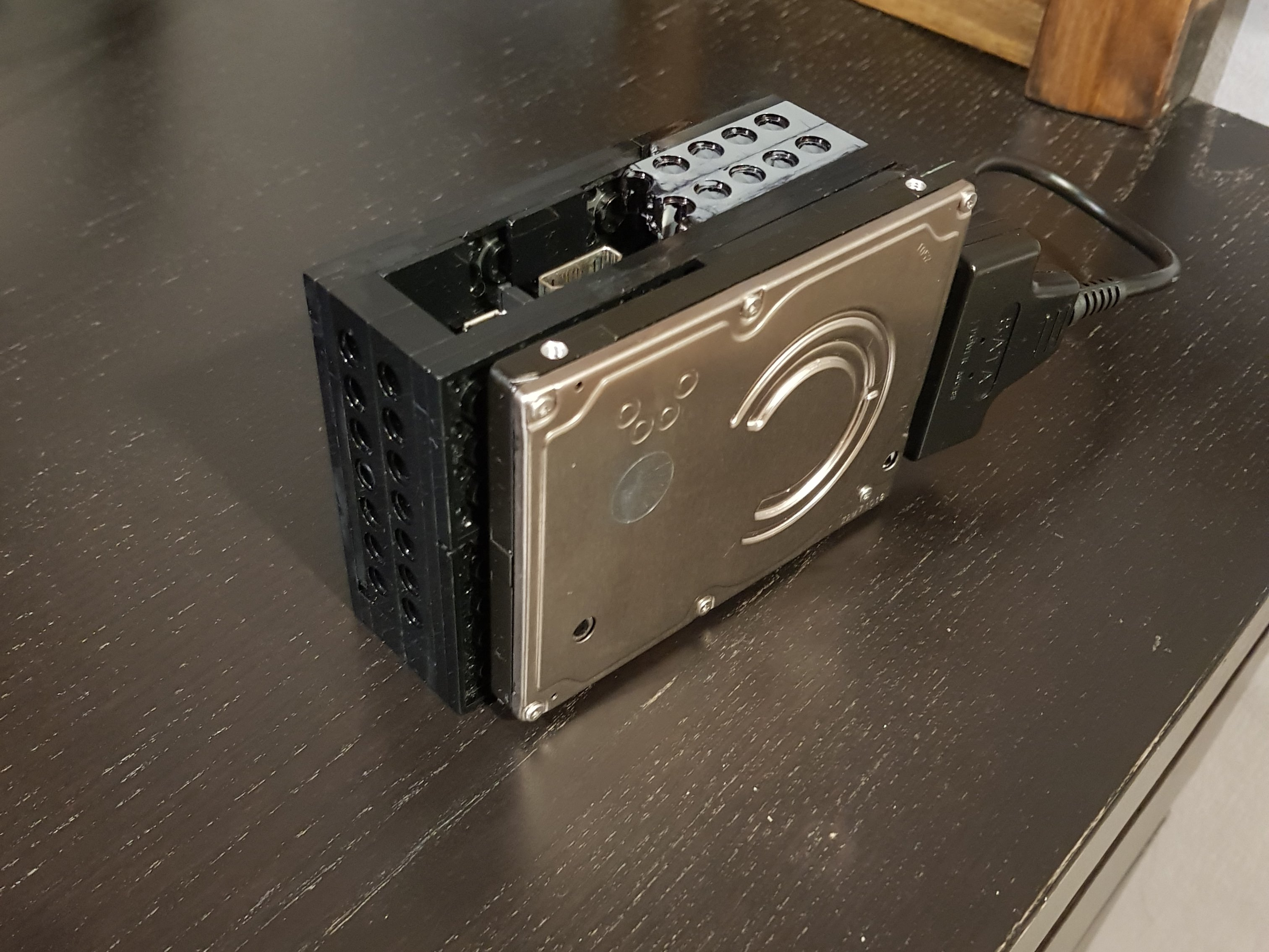 Figure 4 - HDD attached