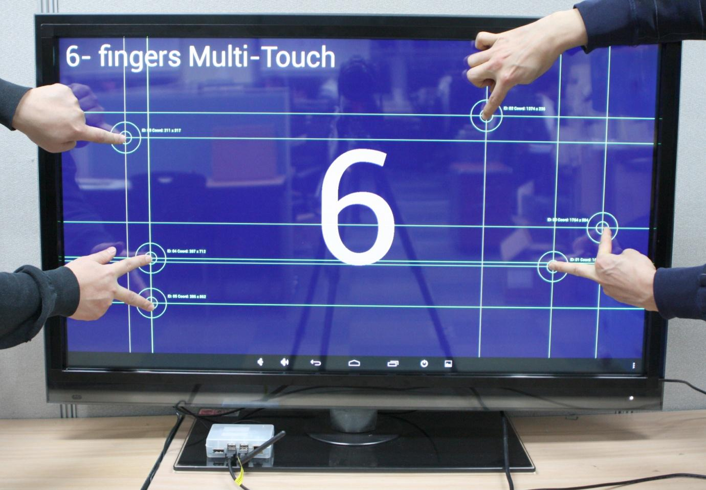 Figure 13 - Testing the touch screen