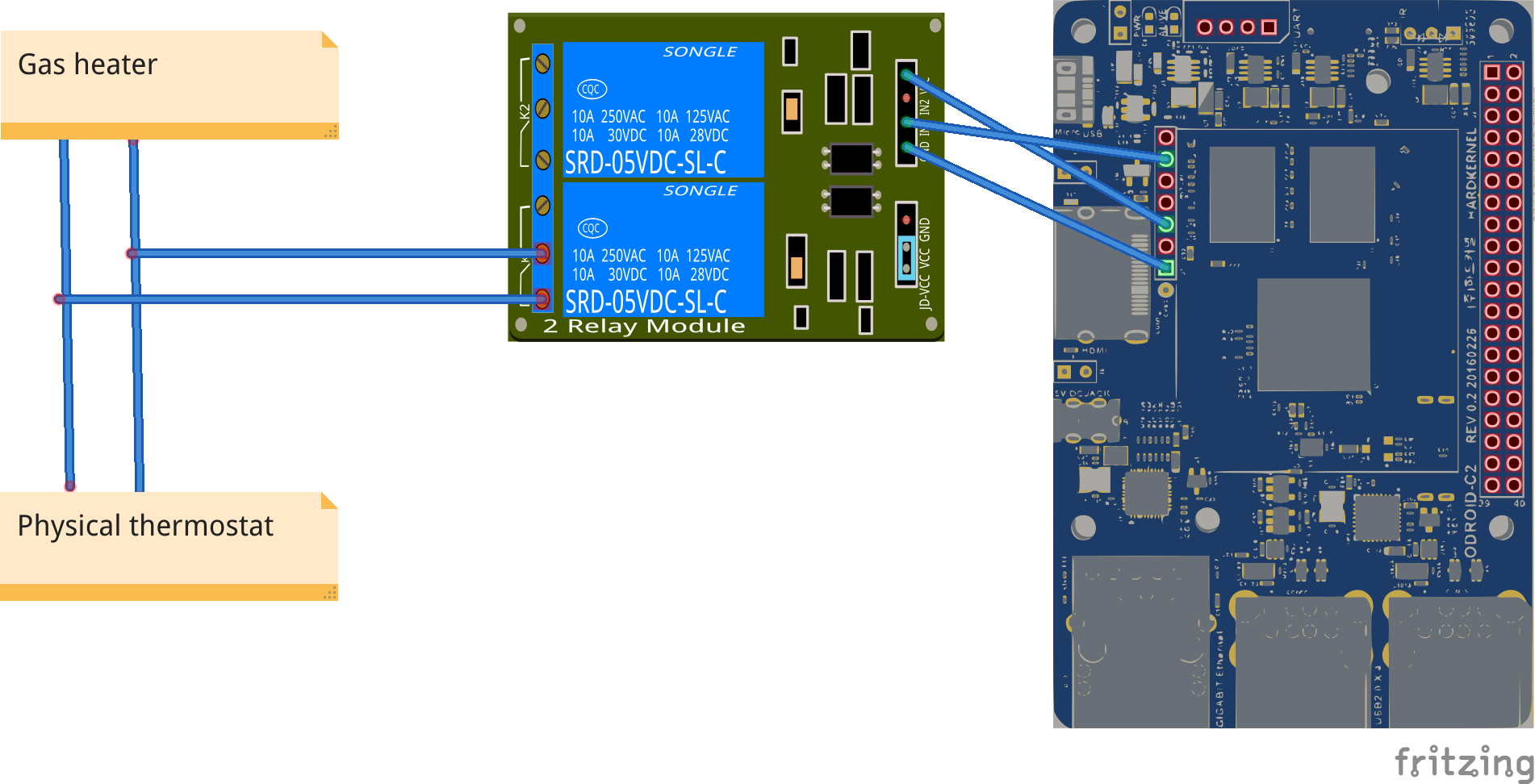 Home Assistant : Using Infrared, Motors, and Relays: Figure 7 - Implementation details
