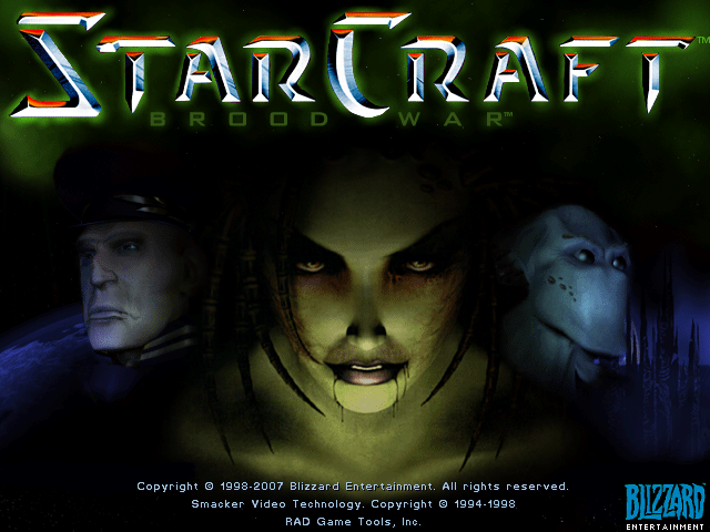 Figure 1 - Booting up StarCraft on an ODROID