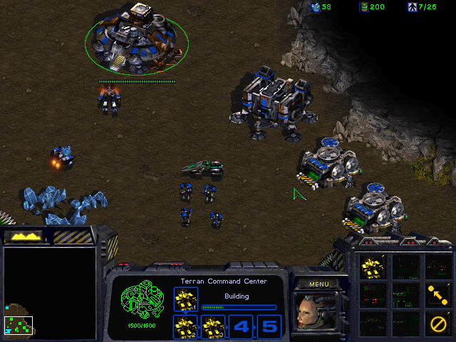 Figure 4 - StarCraft plays as well as it played 20 years ago