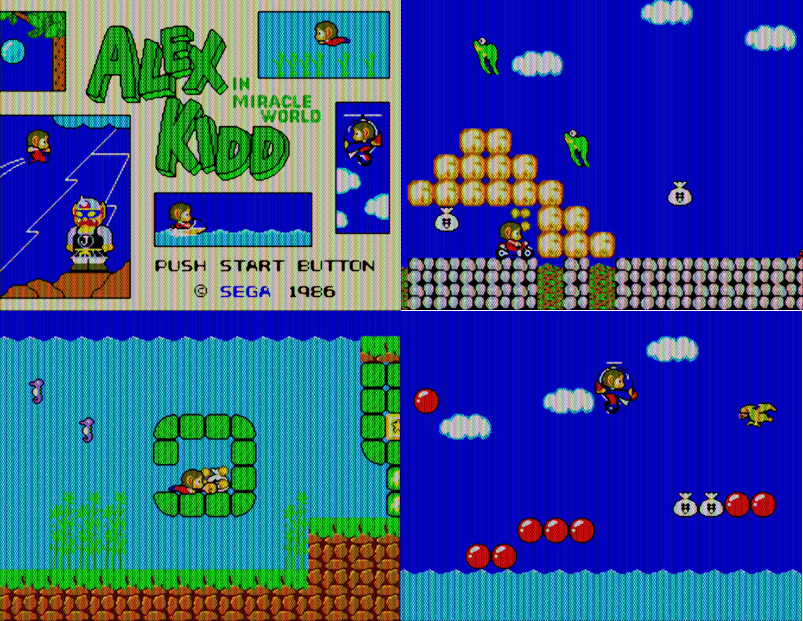 ODROID Magazine - Alex Kidd in Miracle World on the ODROID with 2xsal-level2-crt shader
