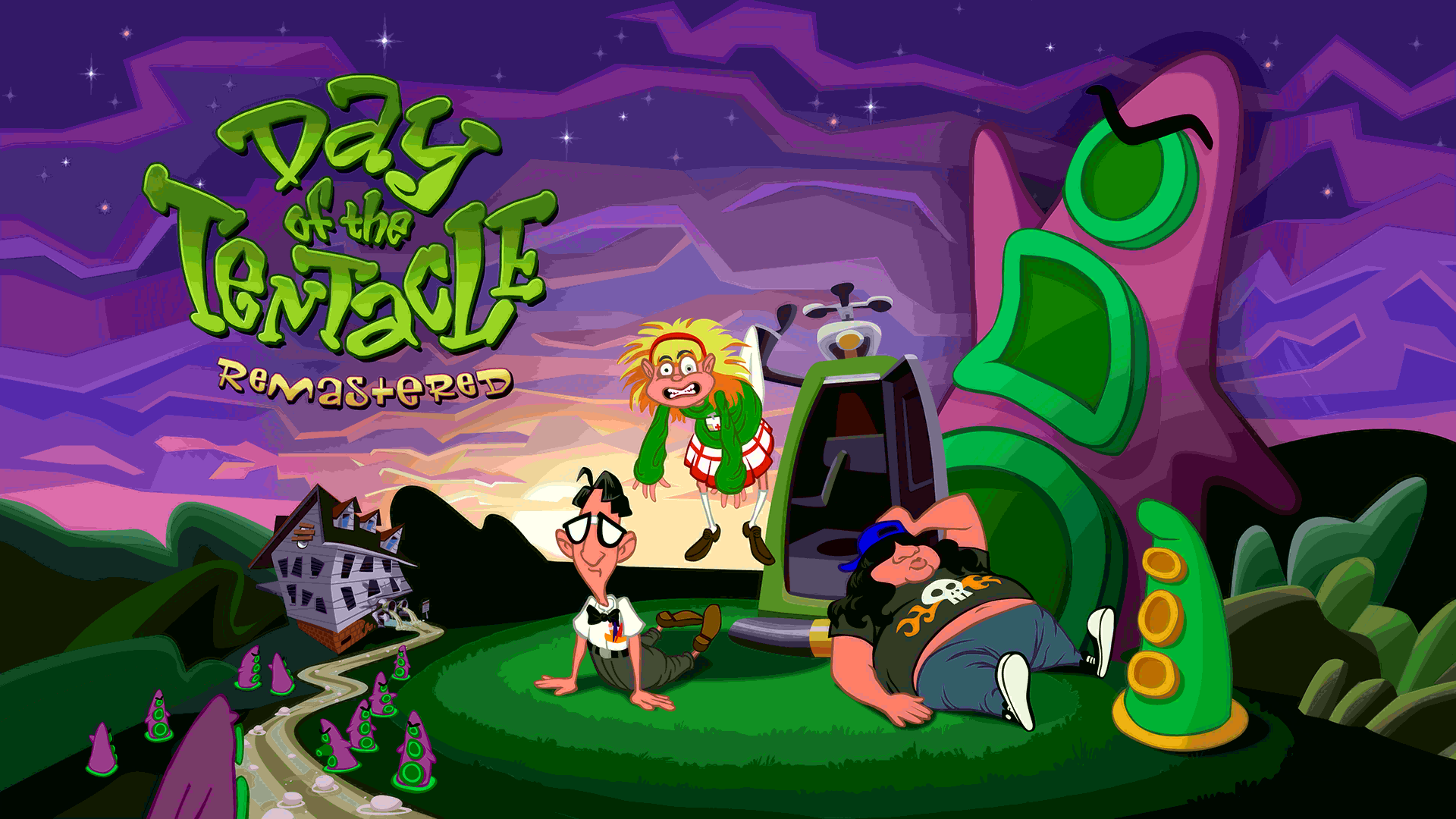 Figure 1 - Day of the Tentacle Remastered in 1080p on the ODROID-XU4