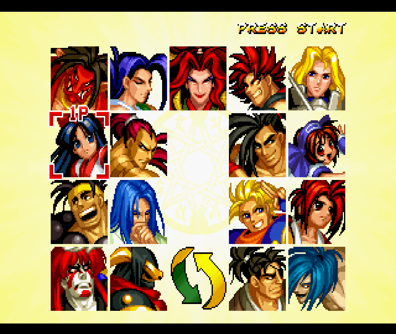 Figure 02 - There's a good amount of fighters to choose from in this game