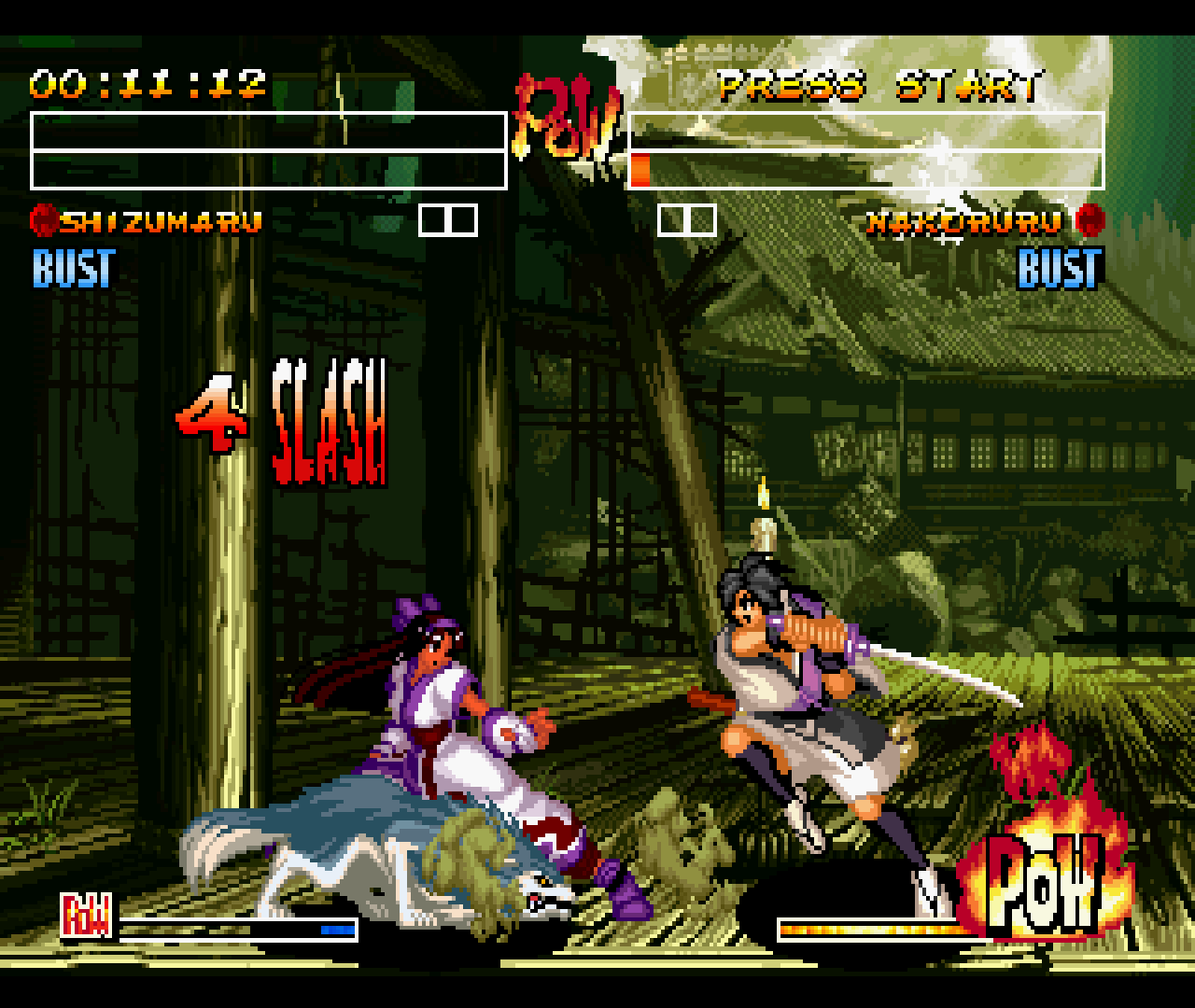 Figure 03 - The fighting animations are really good and the graphics and background really fit the setting