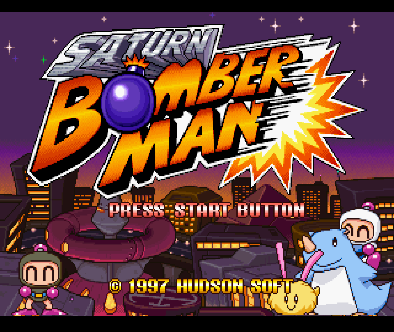 Figure 04 - Saturn Bomberman