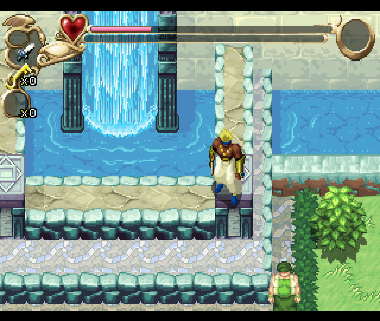 Figure 4 - Beautiful graphics in Legend of Oasis
