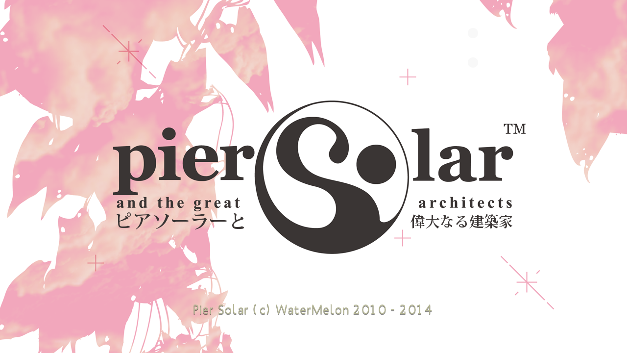 Figure 4 - Pier Solar title screen