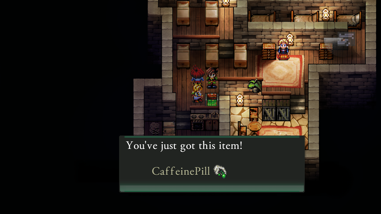 Figure 5 - Looting strangers homes like in every good RPG