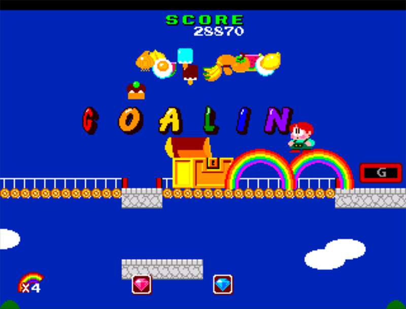 Figure 5 - Bubble Bobble 2 – Rainbow Island