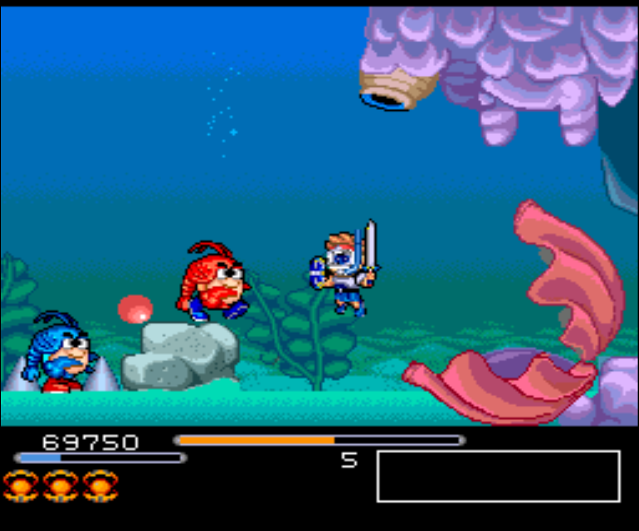 Figure 7 - There are a lot of boss fights in Chiki Chiki Boys