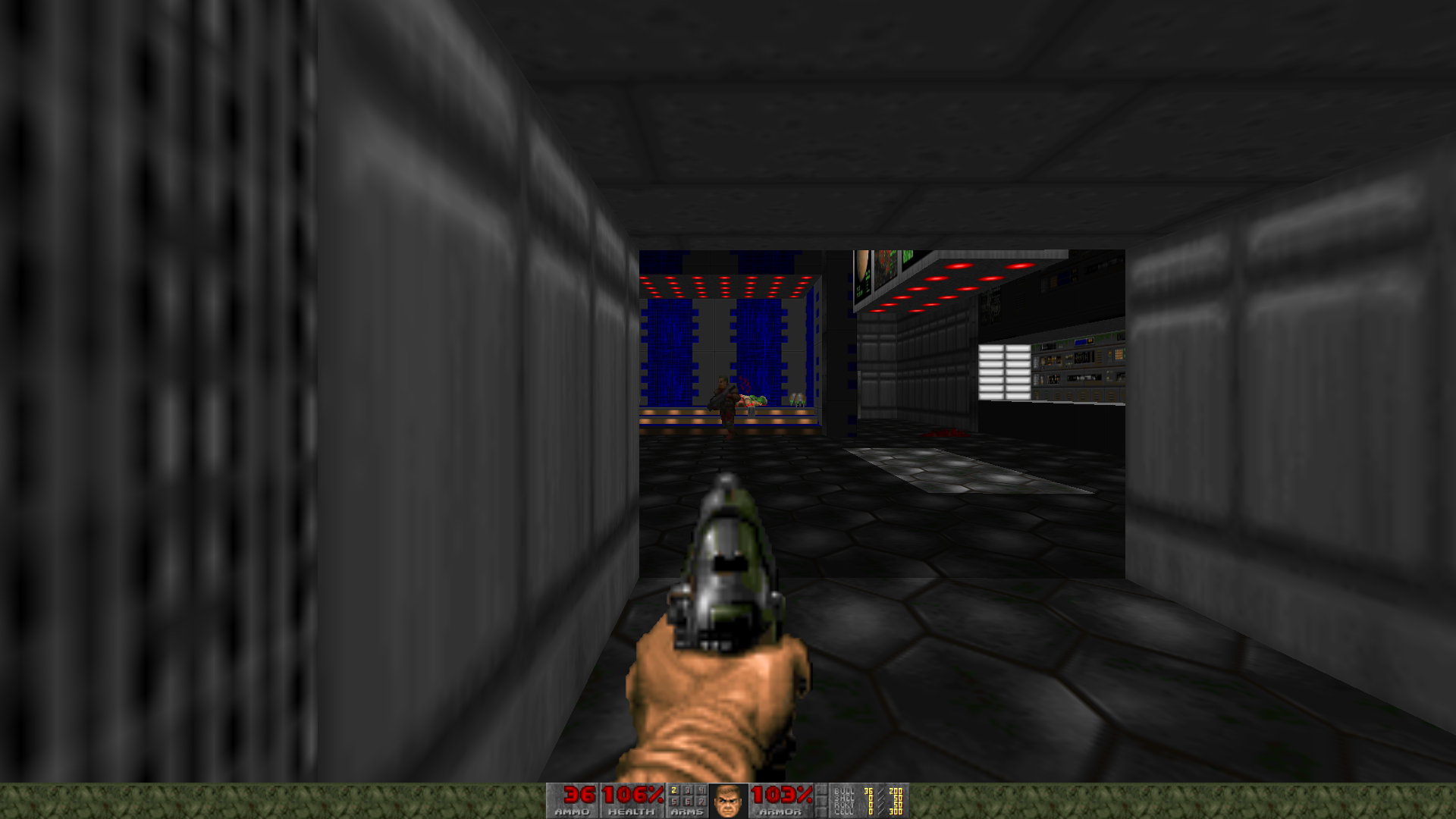 Figure 9 - Classic Doom running on ODROID-N2 with GZDoom