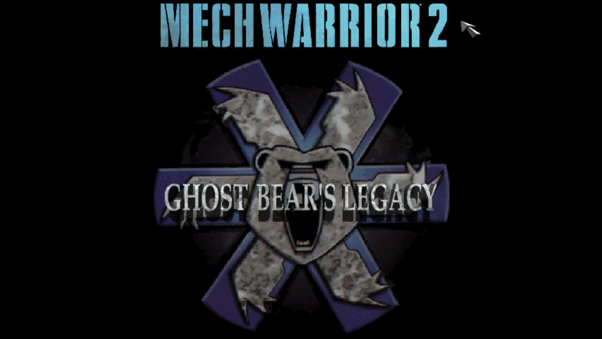Figure 10 - Ghost Bear's Legacy is an official add-on for Mech Warrior 2, also available for DOS