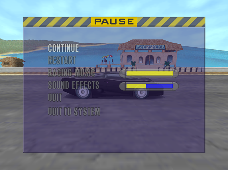 ODROID Magazine Figure 10 - The in-game menu seems to be partly broken as you can only get in and out using the ESC key