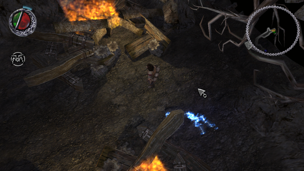 Figure 10 - The graphics are impressive for this game, especially on ODROIDs