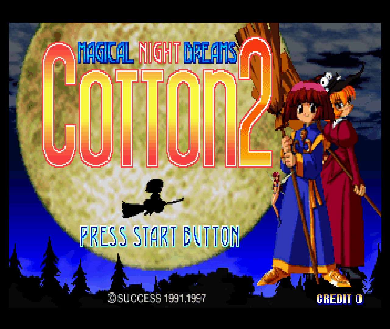 Figure 11 - Cotton 2 for the Sega Saturn