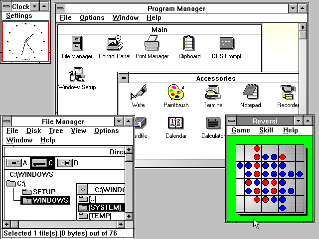 Figure 11 - Windows 3.0 for DOS PCs