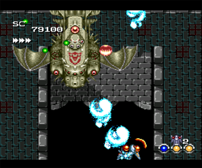 Figure 12 - Normally you fight two bosses per level