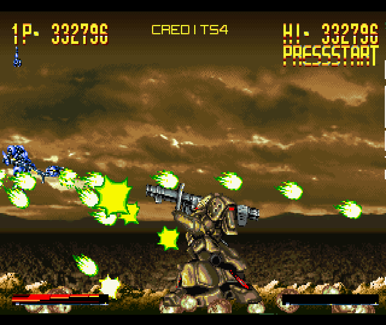 Figure 13 - In this game, it's not just the enemies who can shoot hundreds of bullets