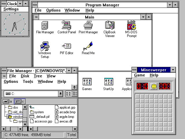 Figure 13 - Windows 3.1 for DOS