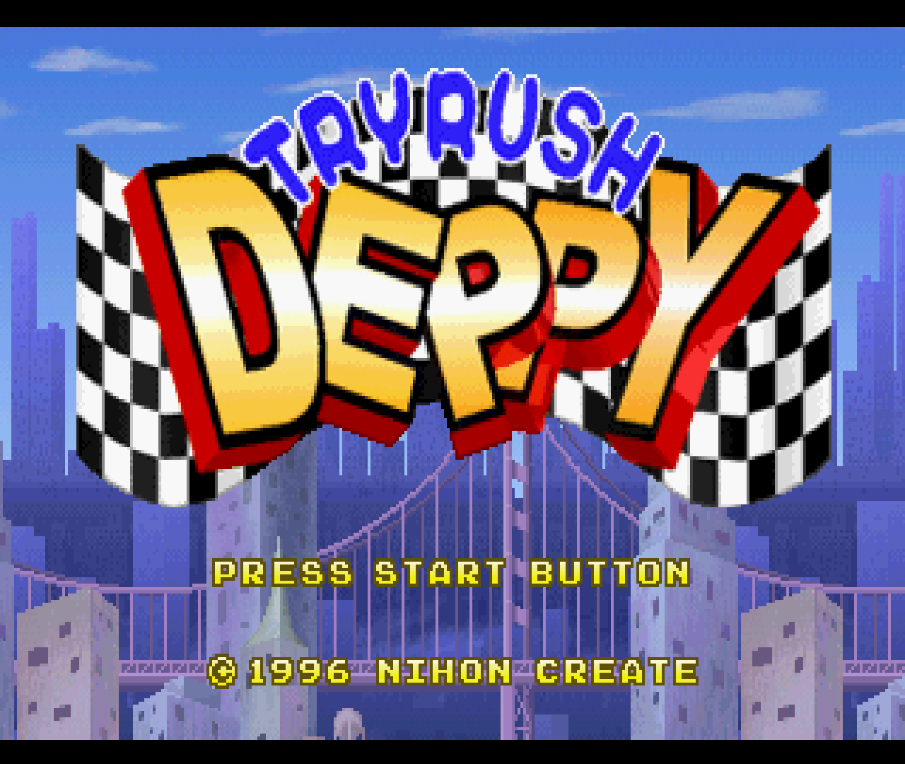 Figure 13 - Tryrush Deppy, one of the strangest games I've played so far