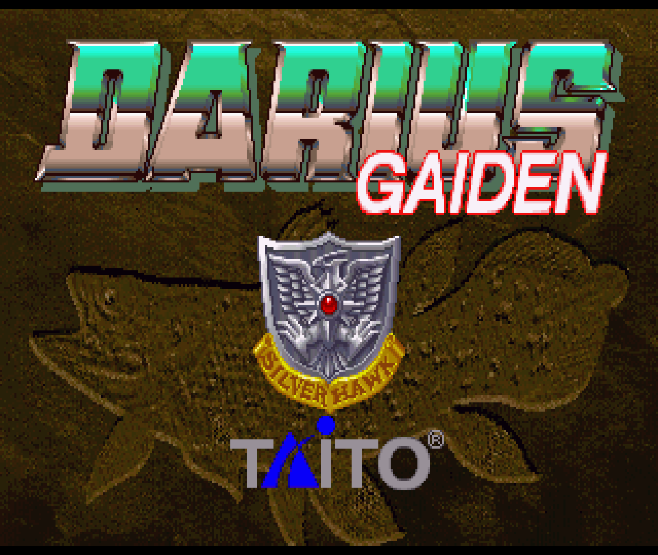 Figure 14 - Darius Gaiden for Sega Saturn running on the ODROID