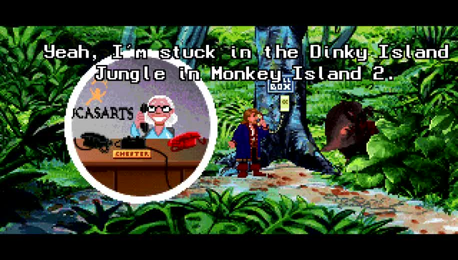 Figure 15 - The Monkey Island Series is an extremely funny adventure series. If you never played them, you really missed out on gaming history