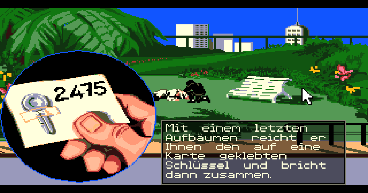 Figure 16 - Operation Stealth was a detailed, complex secret agent adventure on the Amiga