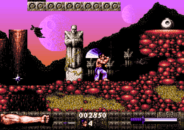 Figure 17 - First Samurai on the Amiga. I loved swinging that sword!