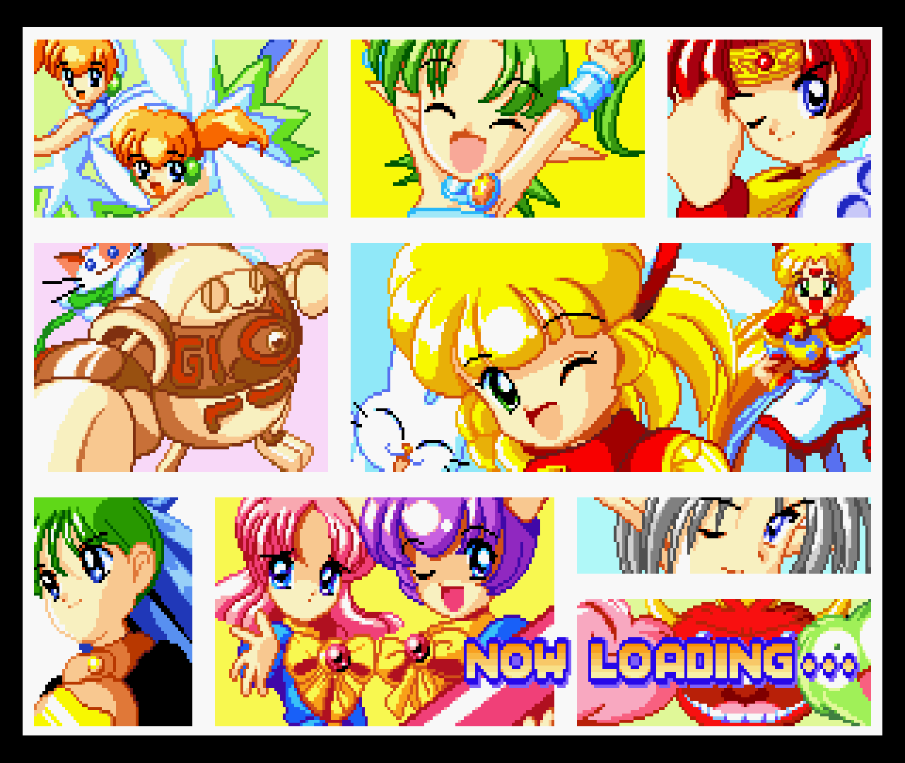 Figure 18 - Twinkle Star Sprites is a very anime-styled game which can be seen on the loading screens