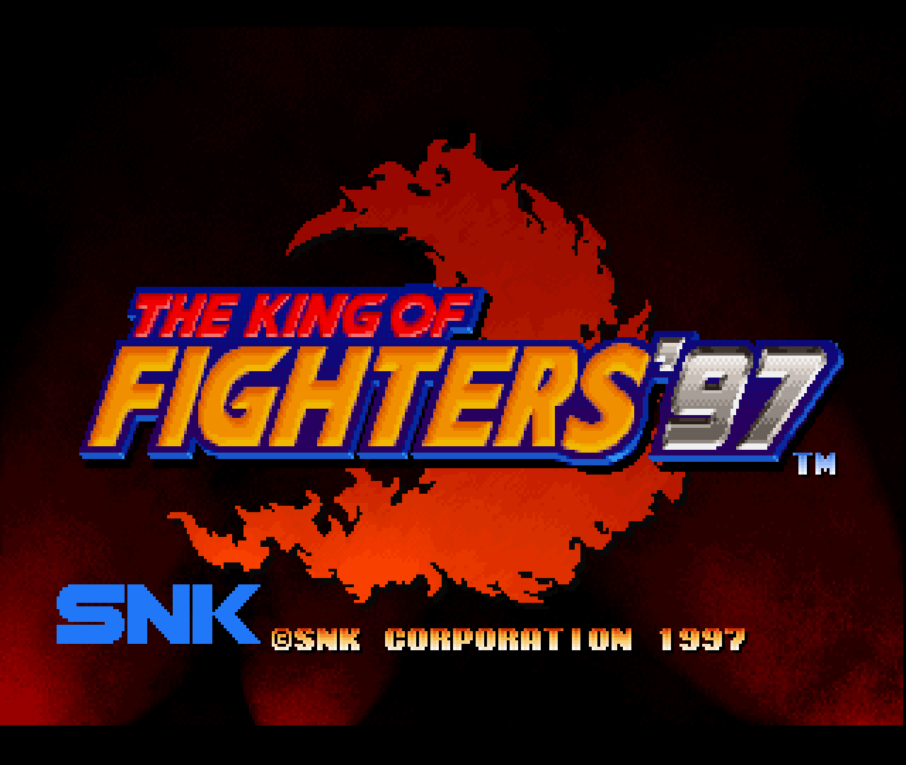 Figure 20 - King of Fighters '96 and '97 for Sega Saturn running on ODROID-XU3/XU4