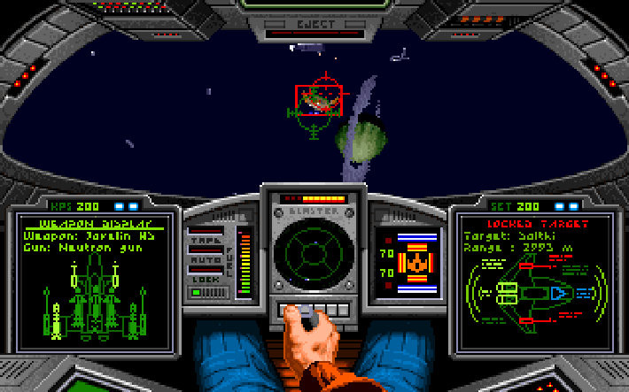 Figure 20 - Wing Commander for the Amiga started my passion for space simulations