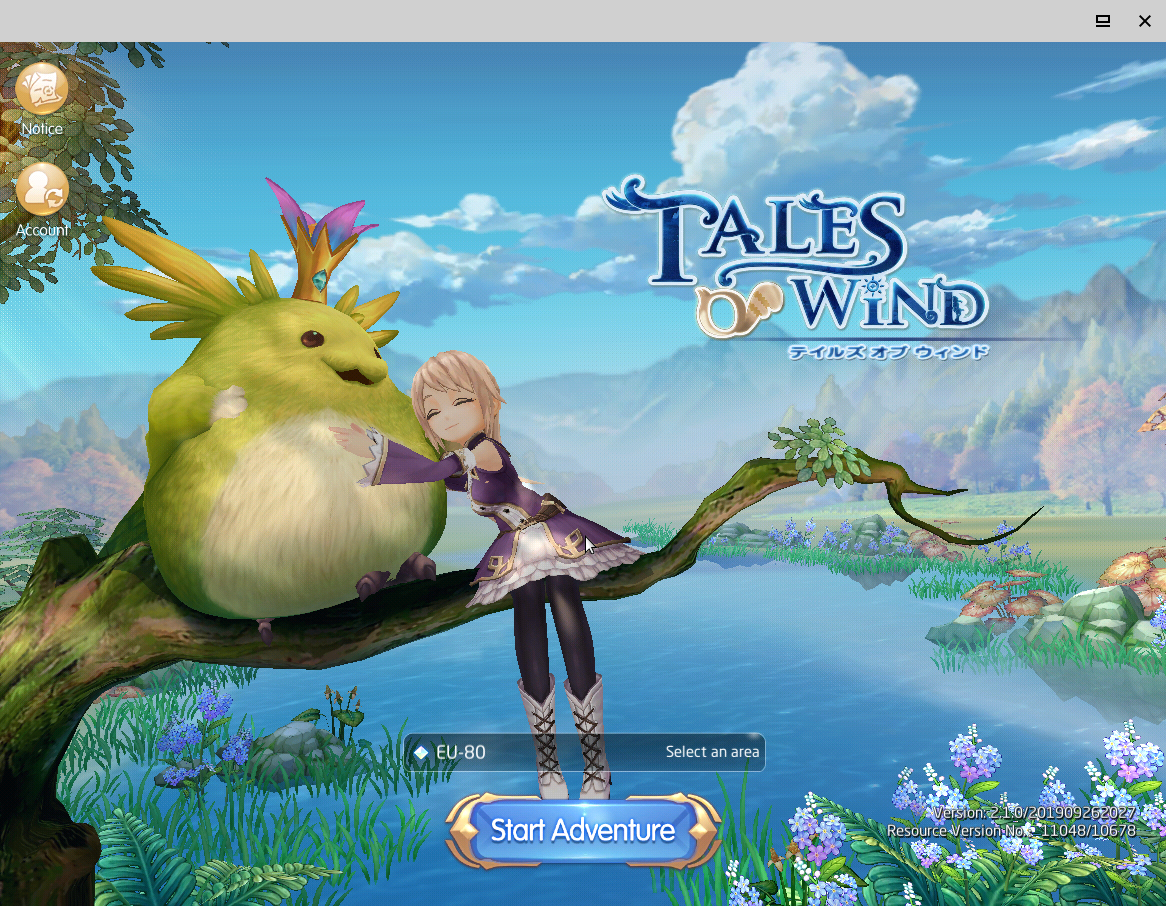 Figure 23 - Tales of Wind a beautiful anime style MMORGP