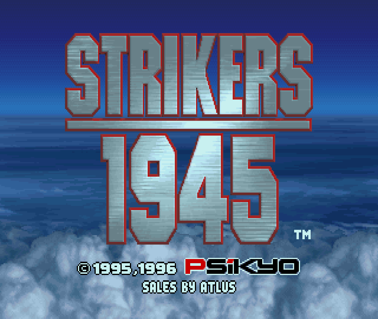 Figure 26 - Strikers 1945 for the Sega Saturn running on an ODROID-XU3