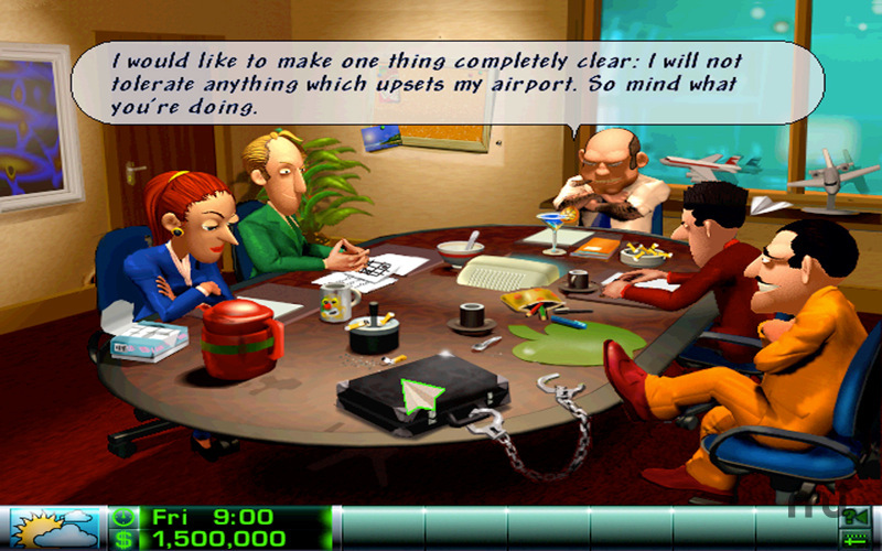 Figure 4 - Airline Tycoon Deluxe gameplay