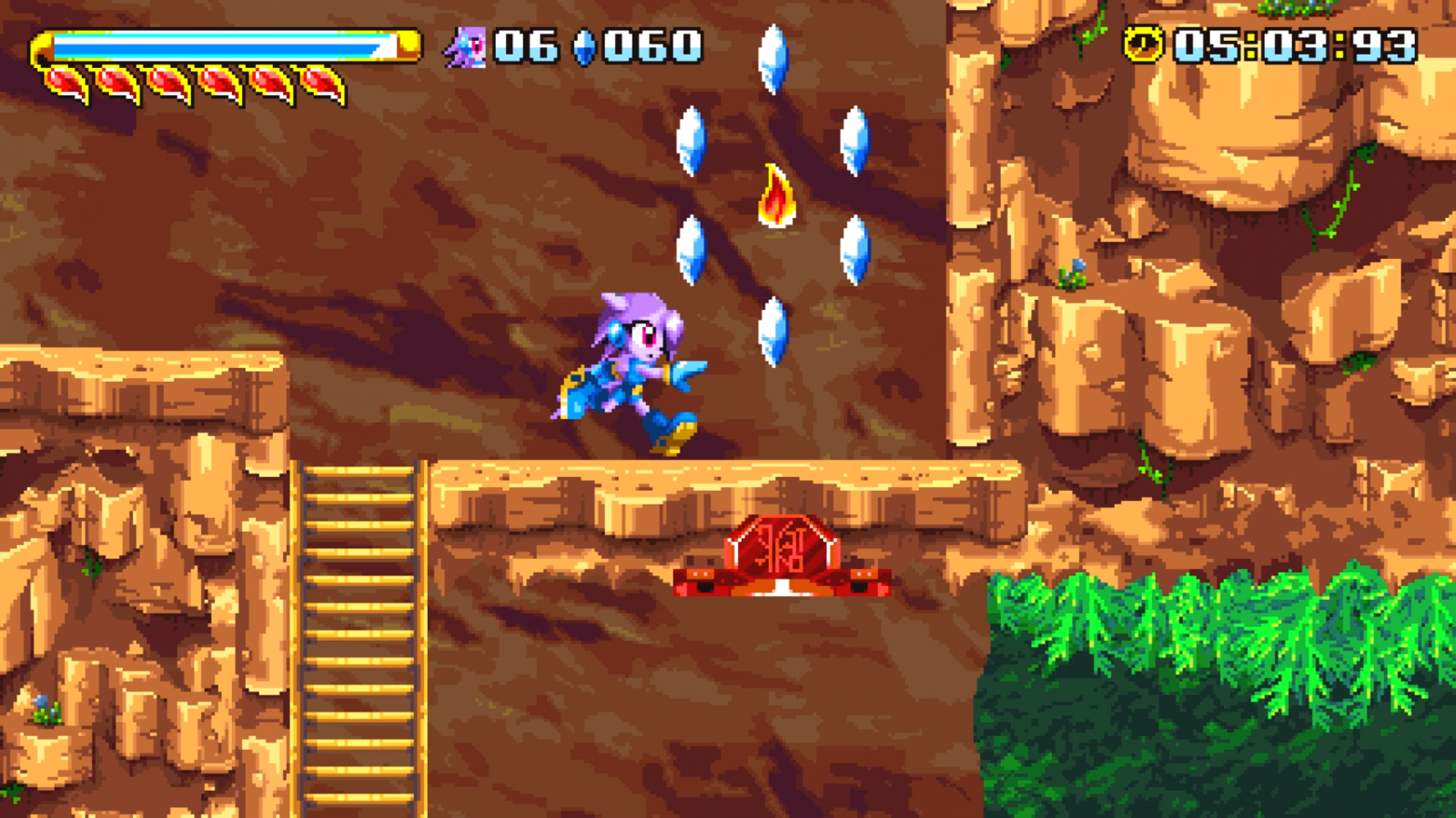 Figure 6 - Freedom Planet gameplay