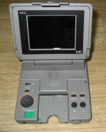 Figure 6 - PC-Engine LT with built-in monitor and speaker