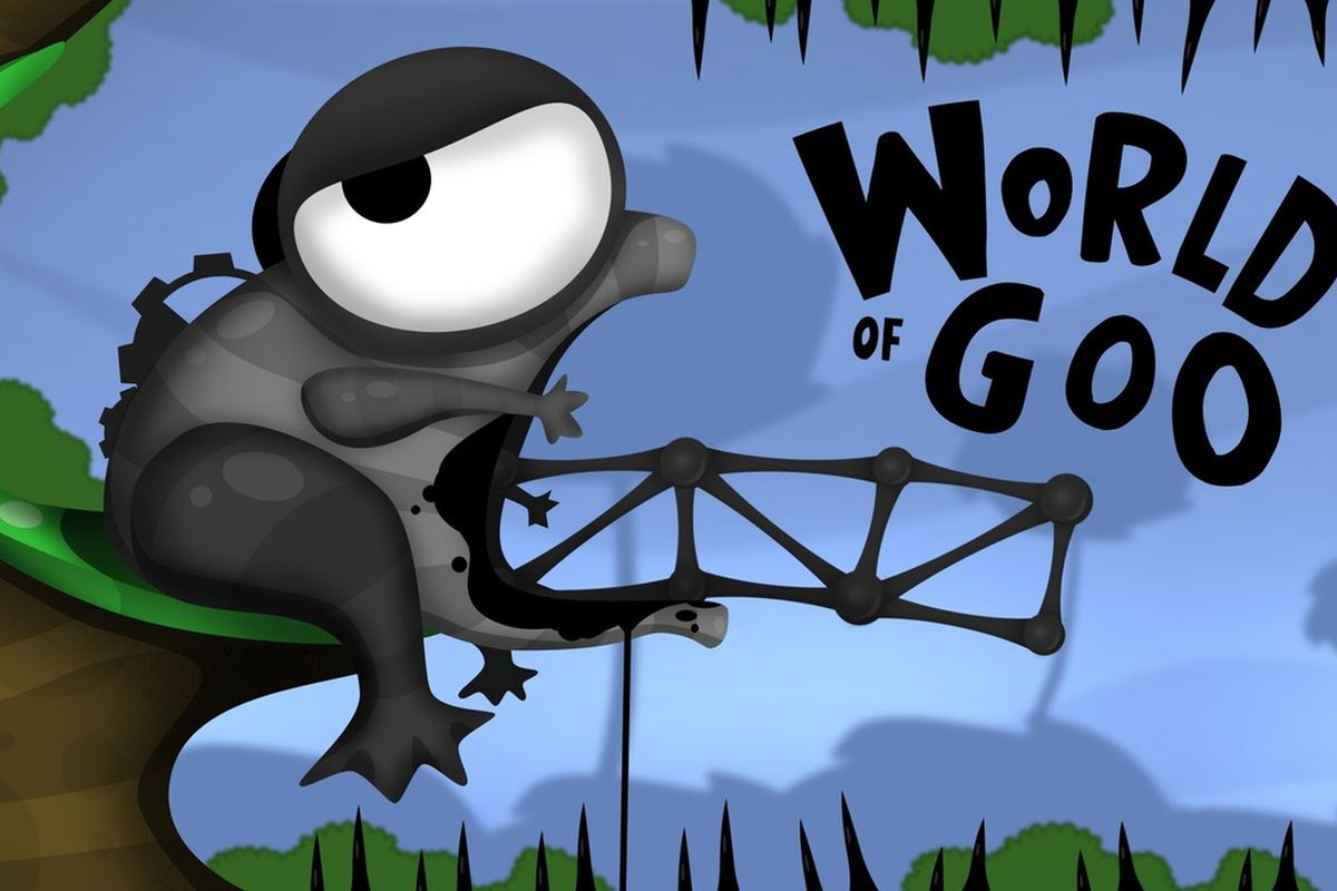 Figure 7 - World of Goo opening screen