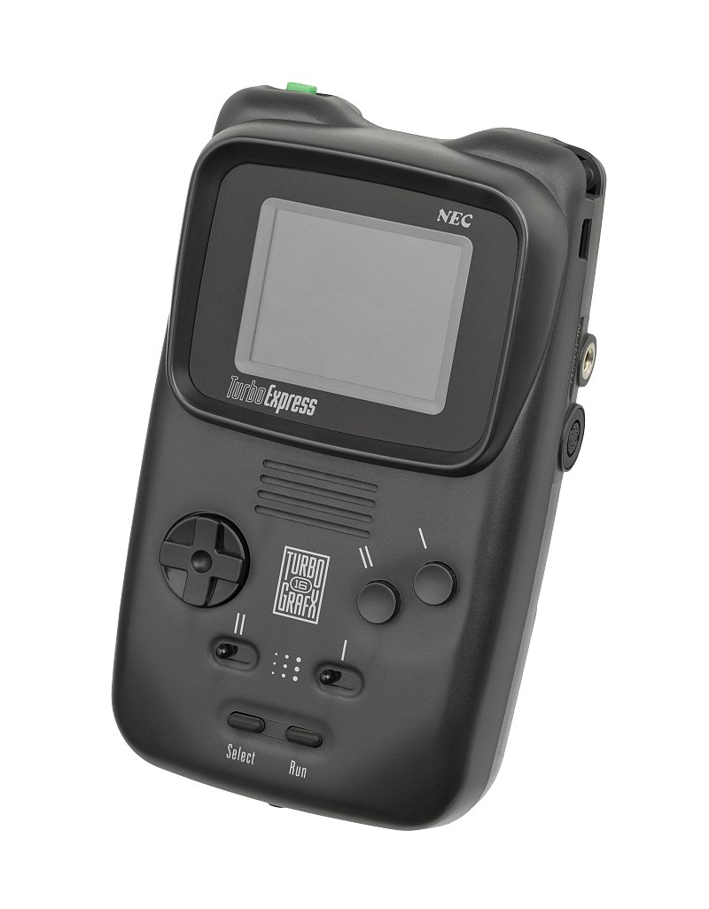 Figure 7 - The PC-Engine GT / TurboExpress handheld version of the PC-Engine