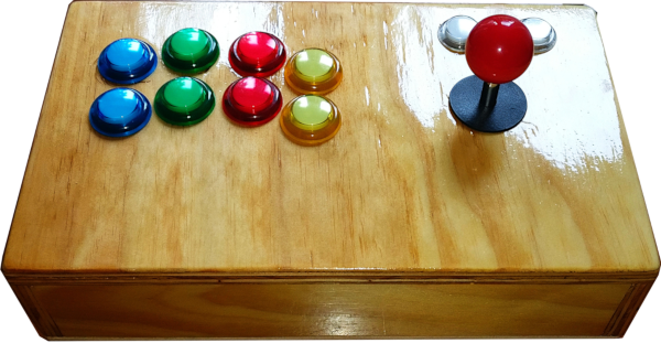 Figure 2 - Custom made Joystick for Kodi with Mame