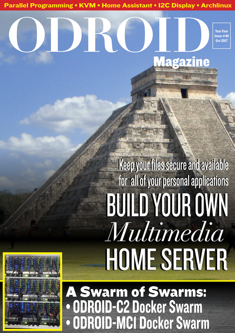 ODROID Magazine October Issue Available Now! (Home Server