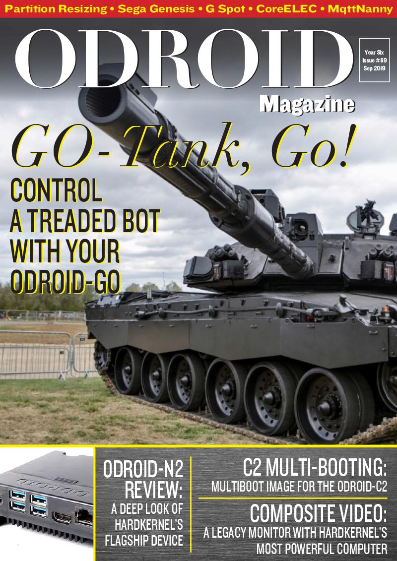 September 2019 (ODROID-GO Tank) | ODROID Magazine
