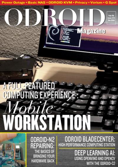 December 2019 (Mobile Workstation) | ODROID Magazine