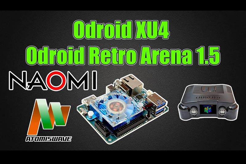ODROID-XU4 ORA Base Image v1 5 2: Sammy Atomiswave, Sega