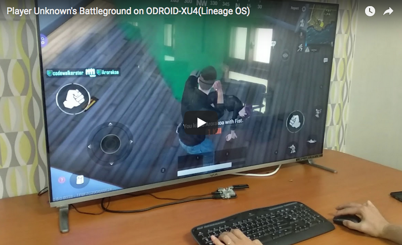 Player Unknown's Battlegrounds (PUBG) On The ODROID-XU4: How To