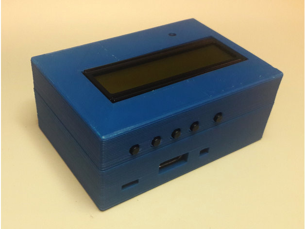 Figure 4 - A custom 3D-printed case for the PiFace