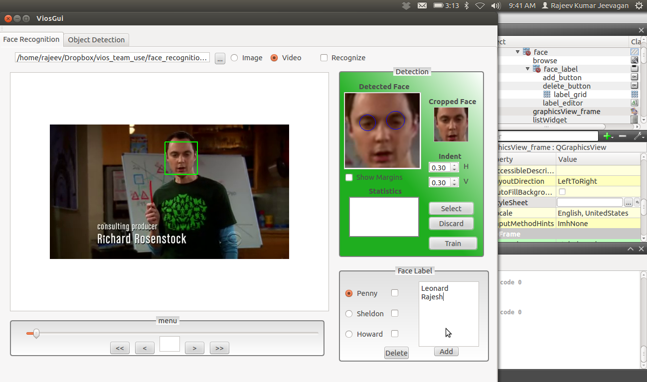 Figure 02 - Face detection with OpenCV